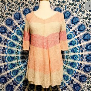 212 New York Womens Size Small Coral/Beige Blouse